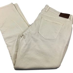 NWT Michael Kors Parker Slim Fit White denim jeans